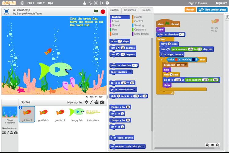 scratch tutorial niños aprender a programar edad