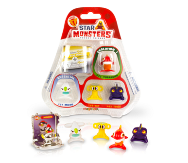 STAR MONSTERS - Monstruos coleccionables