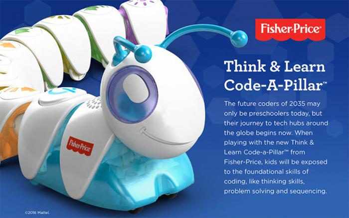 Code a pillar Fisher Price Programación para niños Juguetes Opinion y Precio