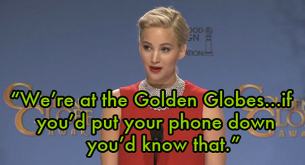 jennifer lawrence telefono video globos oro