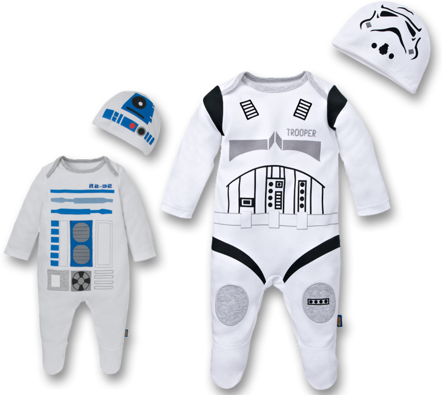 Disney Baby ropa bebé Star Wars Pijamas