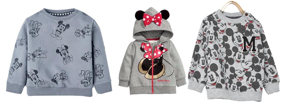 Disney Baby Sudaderas Minnie Mickey moda infantil ropa niños