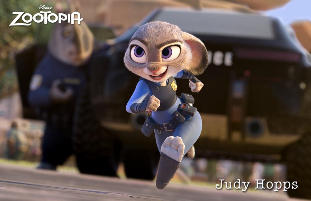 Zootropolis Personajes CONEJITA JUDDY HOPPS