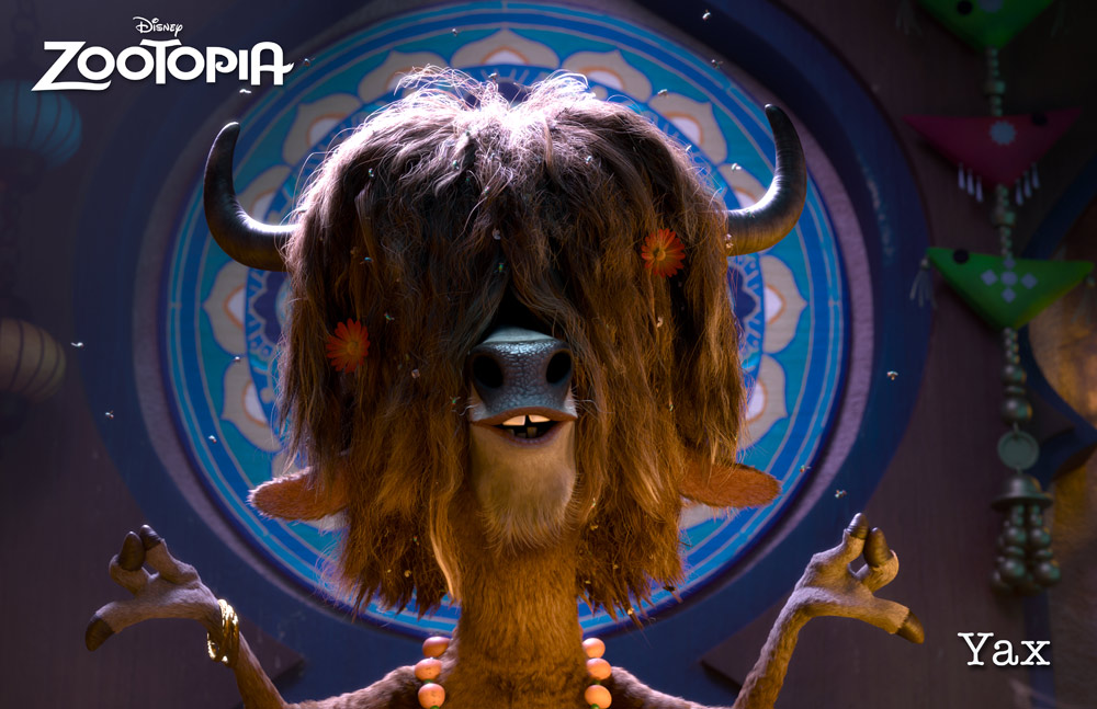 Zootropolis Personajes YAX