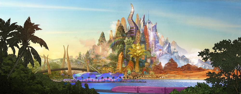 Zootrópolis - Skyline