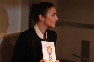 Paula Echevarría - Proyecto Lydia - Hospital La Paz - Fundación Cris Contra el Cáncer - Libro Solidario - Cancer infantil