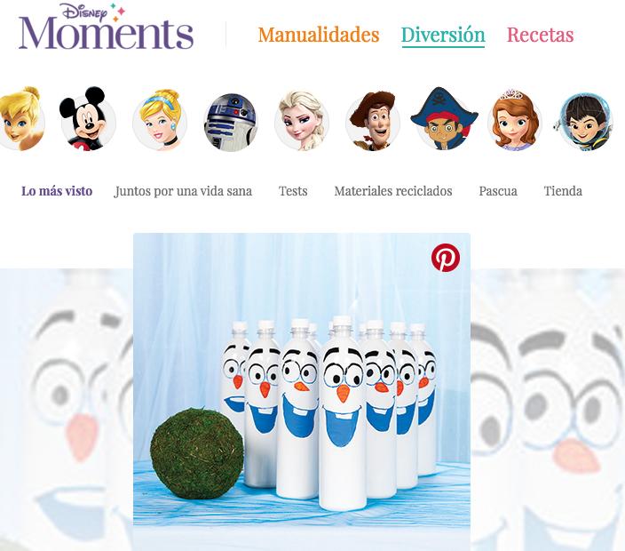 Disney moments España Manualidades Recetas