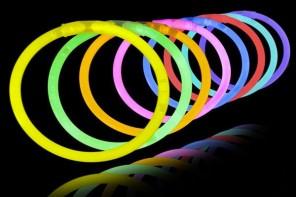 Pulseras fluorescentes