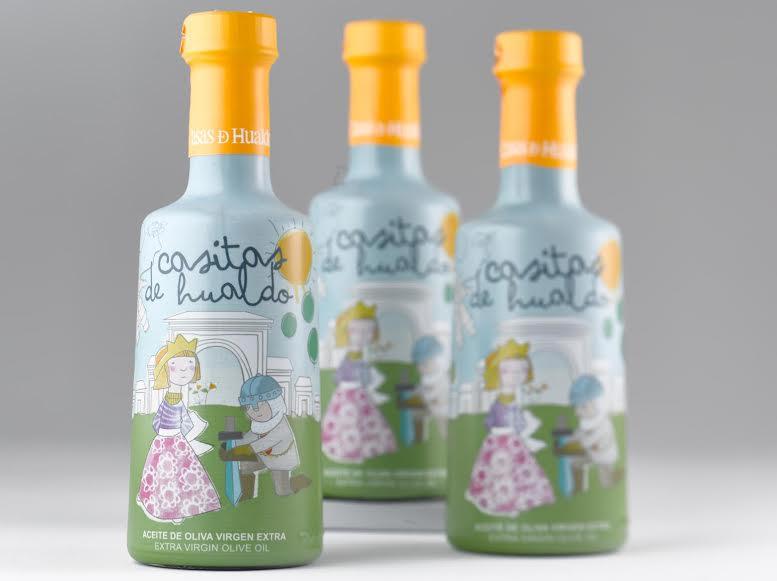 Aceite de oliva para niños