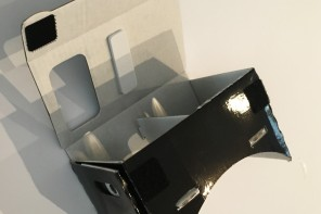 gafas realidad virtual cardboard nesquik