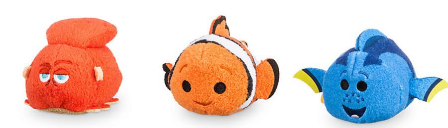 Tsum Tsum Buscando a Dory (Nemo, Hank, Dory)