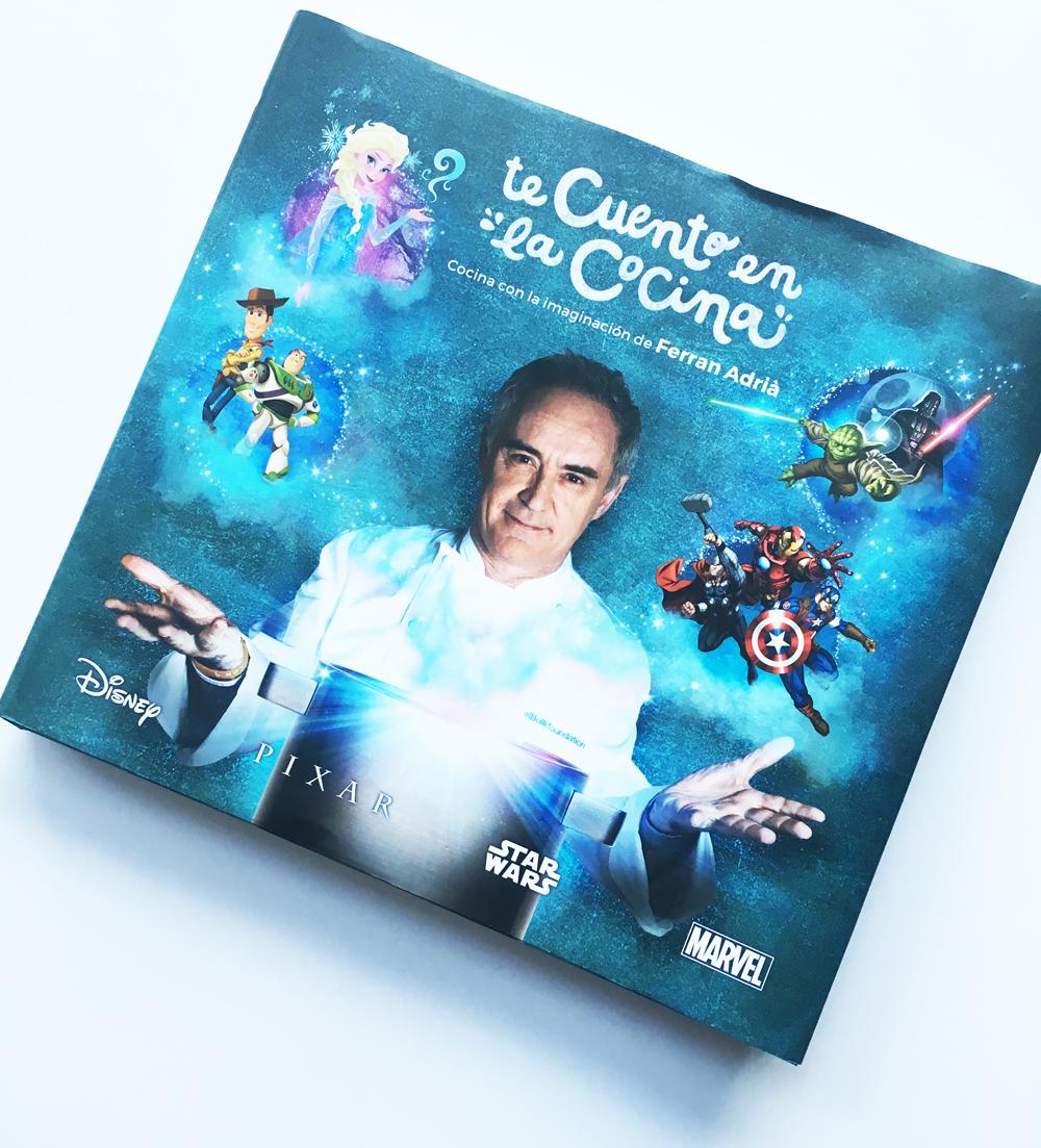 Libro Te cuento en la cocina - Ferrán Adriá, disney, Carrefour