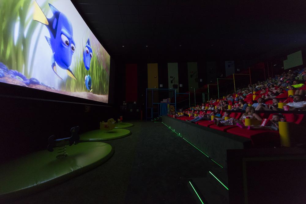 Sala de cine para niños YELMO KIDS ISLAZUL MADRID