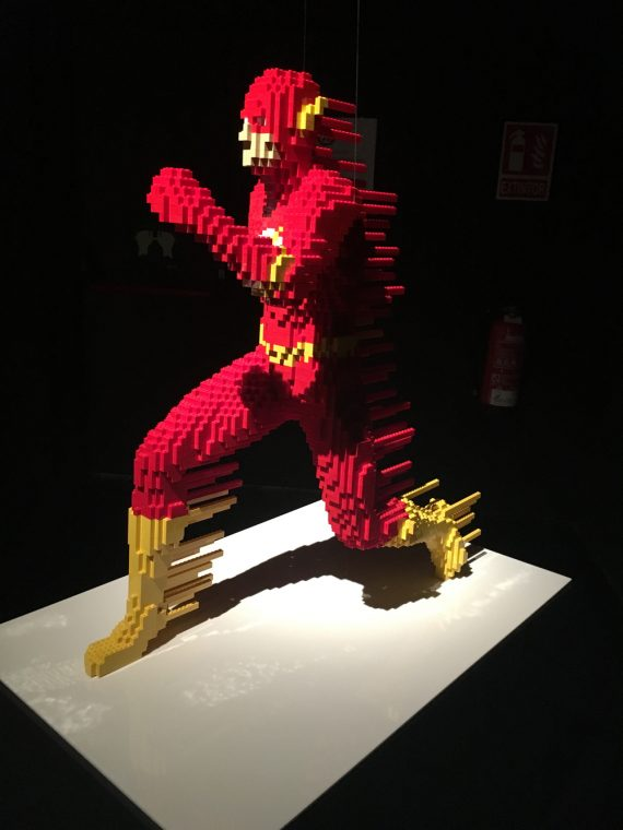The Art of Brick: DC Superheroes - Lego - MAdrid -Nathan Sawaya -Colon