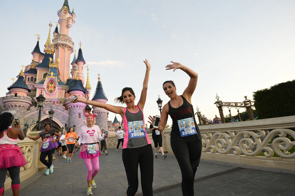 Half Marathon - 5k Race - Disneyland Paris 2016 - Media maraton