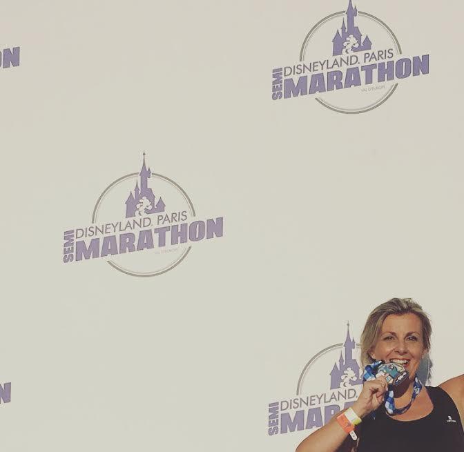Susana Garcia Maedia Maraton disneyland Paris