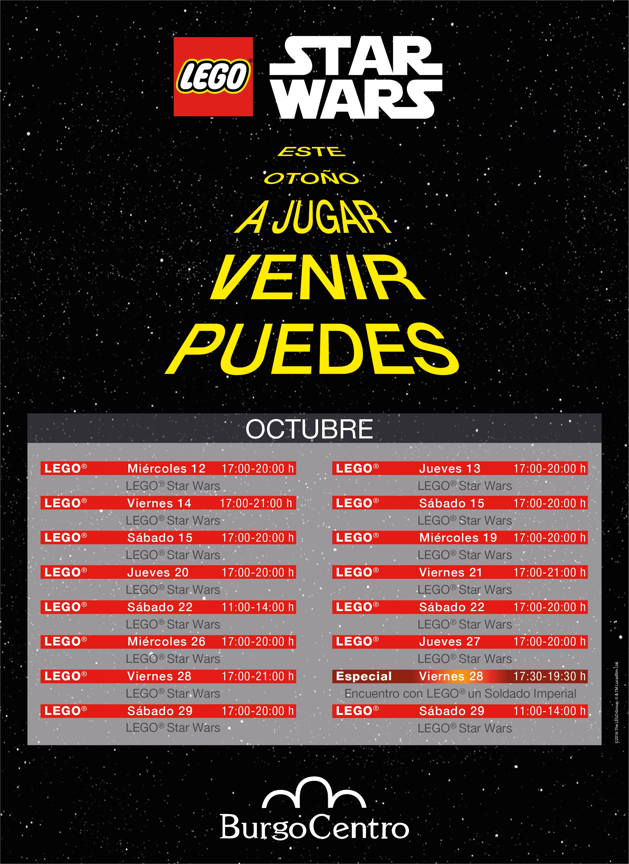 Evento LEGO STAR WARS Burgo Centro Las Rozas Madrid