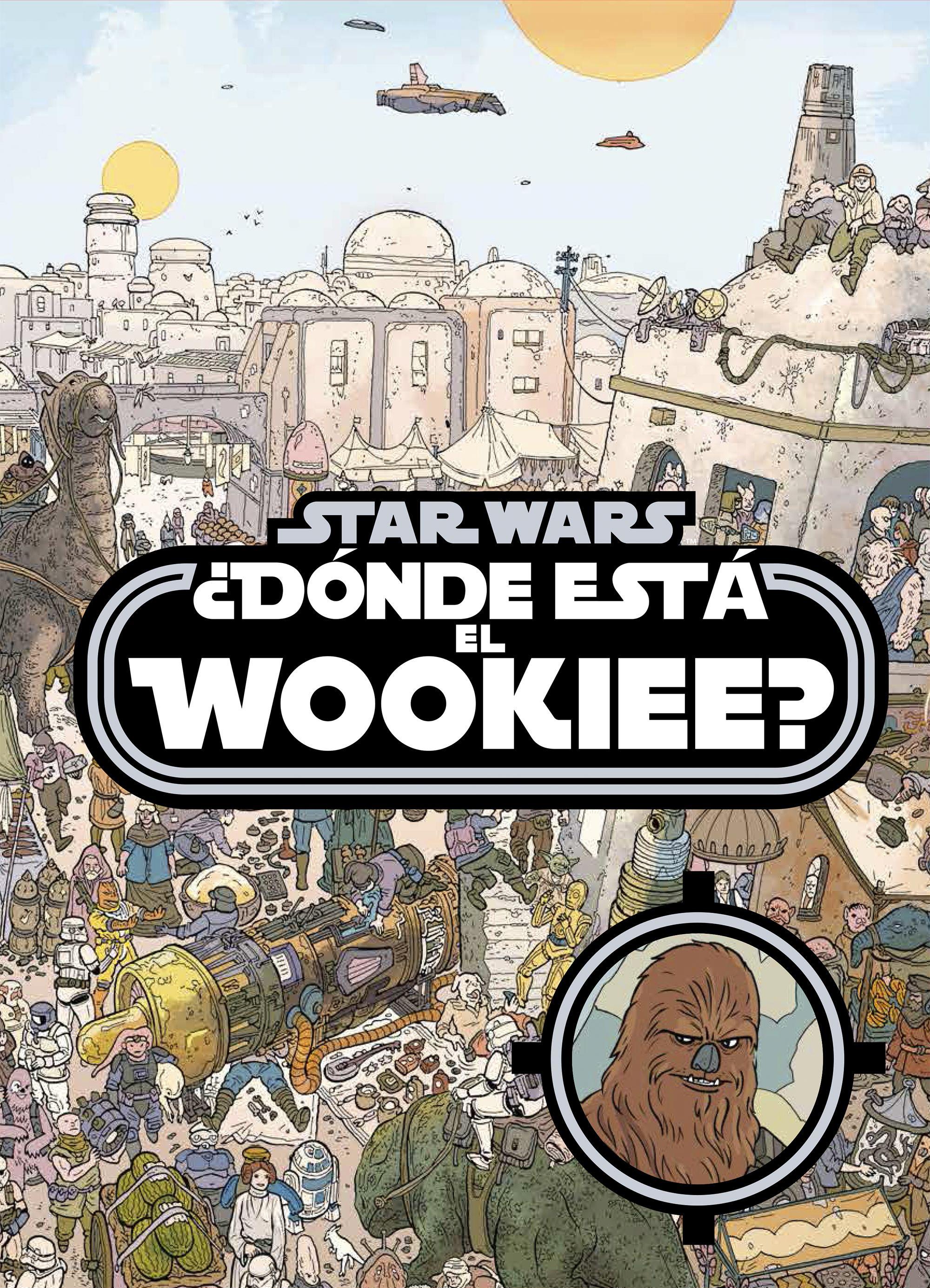 Libros Star Wars: Donde está el Wookiee?