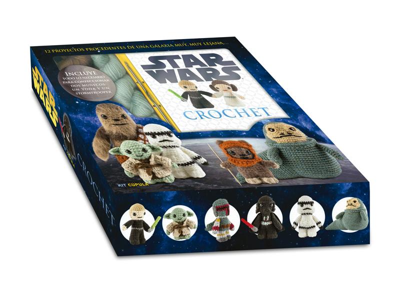 Libros Star Wars: Crochet y manualidades