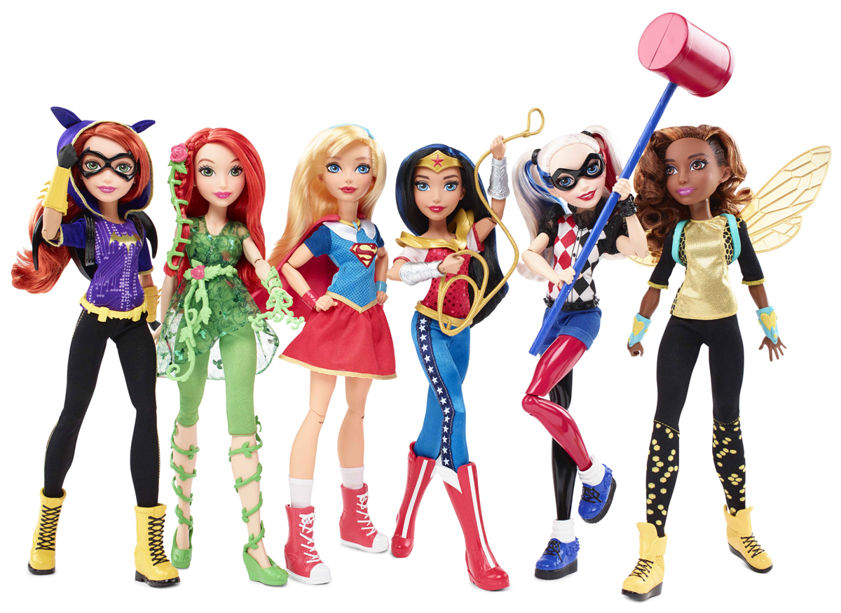 DC Super Hero Girls Muñecas Mattel