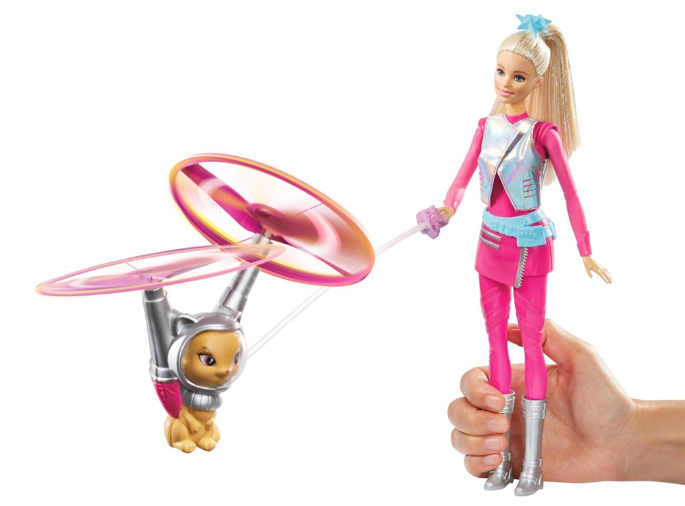Barbie Gato Volador