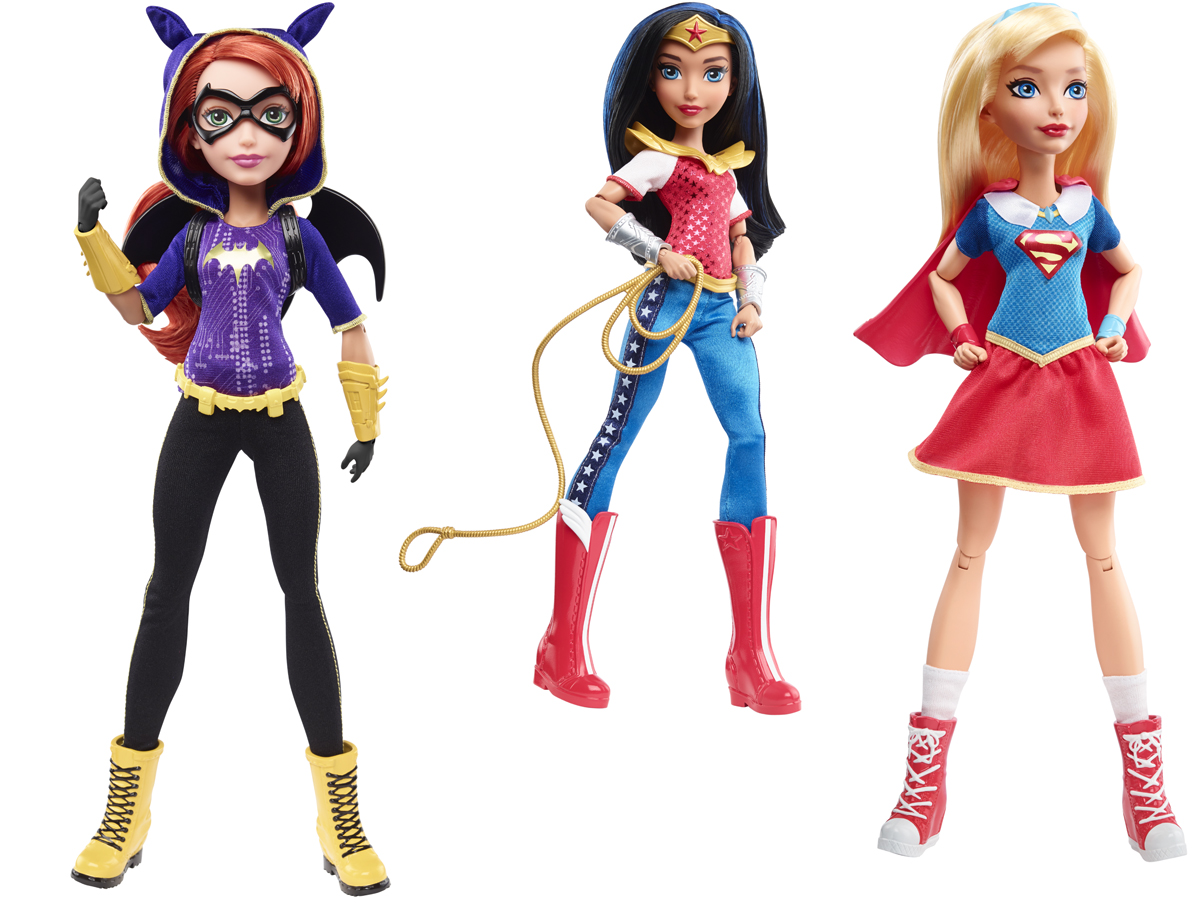 DC Super Hero Girls - Muñecas de Mattel