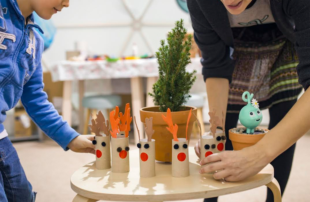 Planes con niños: Creatividad e imaginación dentro de un iglú