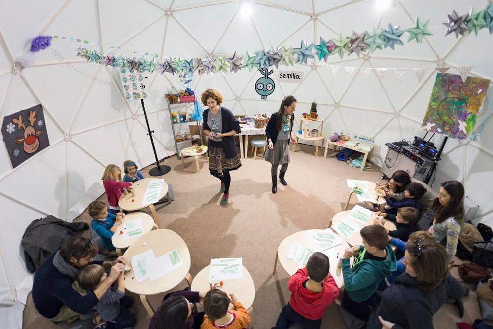 Planes con niños: Iglu de la Navidad 2016 - 2017