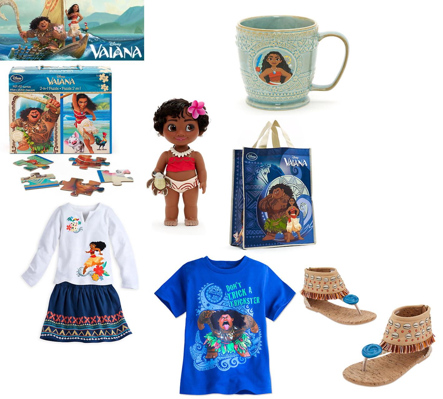 Ideas de regalo para niños: Vaiana