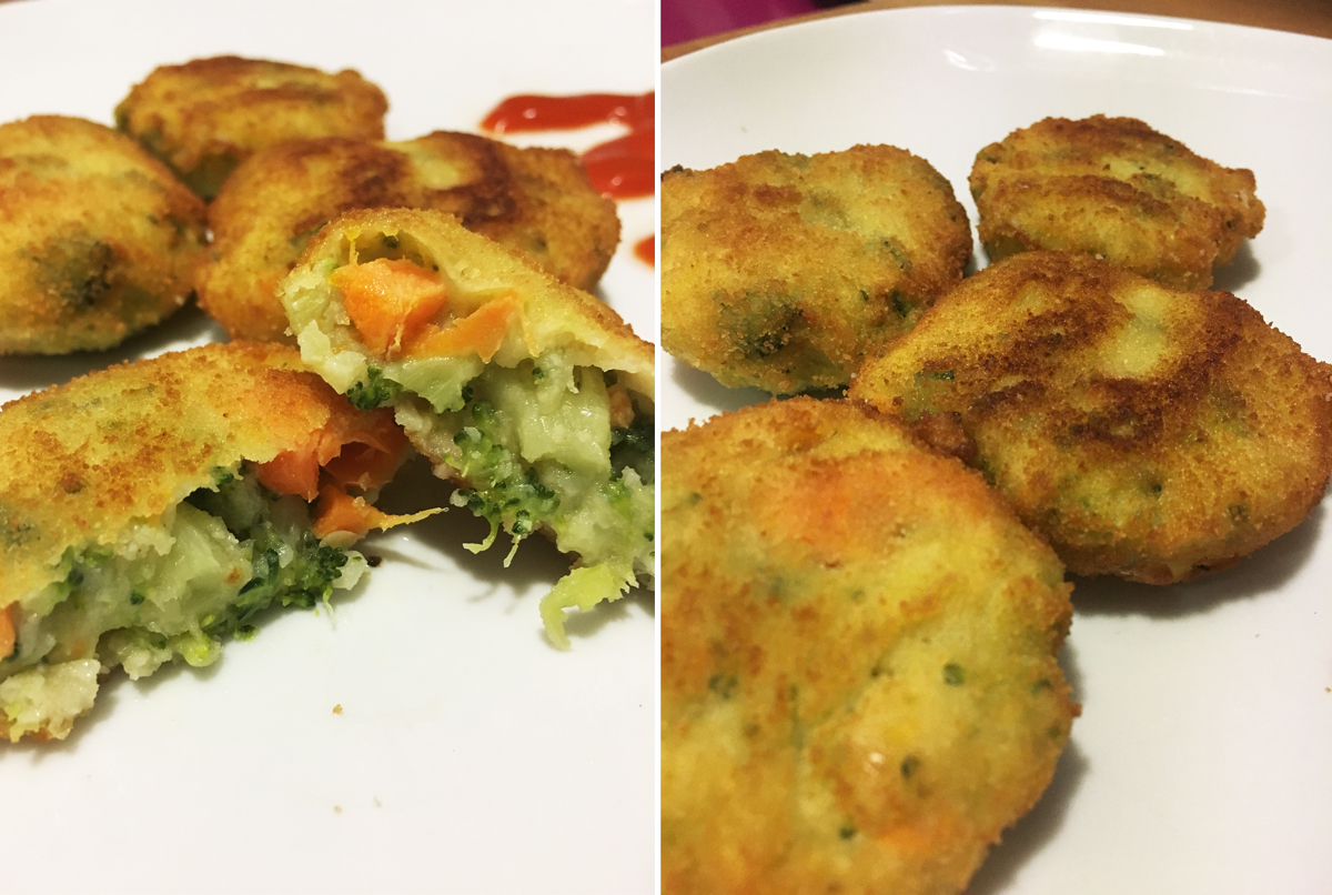 Recetas con verduras congeladas para niños: hamburguesas de verduras