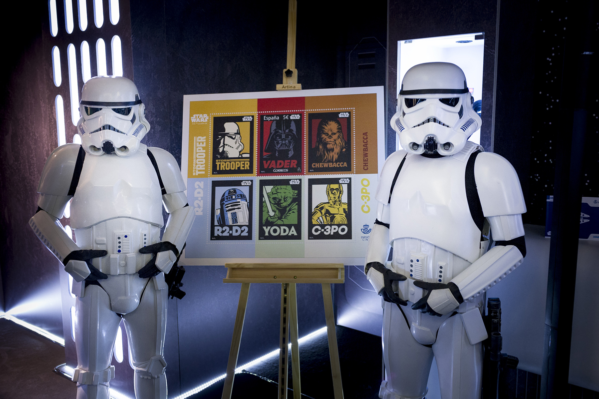 Star Wars - Sello - Correos