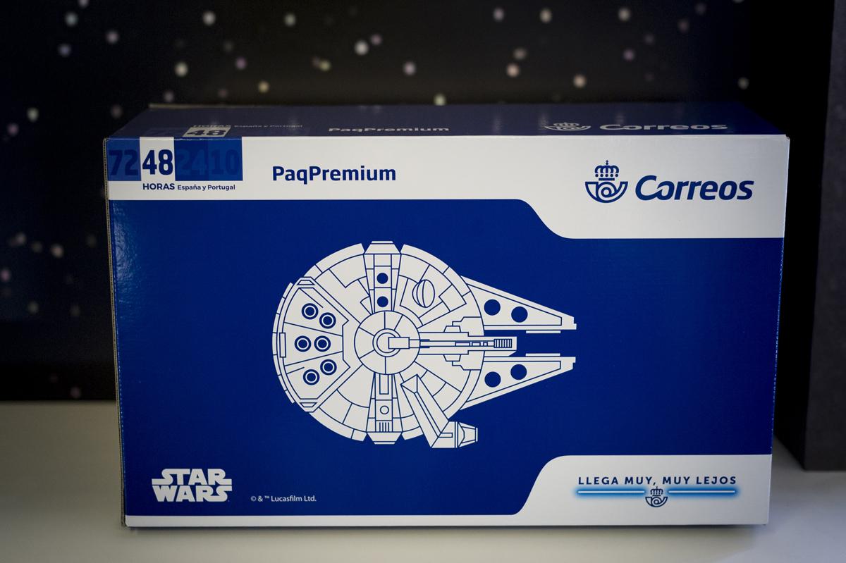 Star Wars - Sello y caja para envíos - Correos