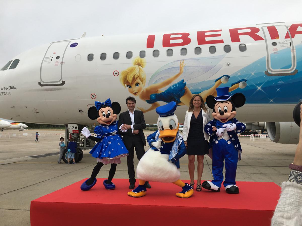 Vuelos Iberia Disneyland Paris