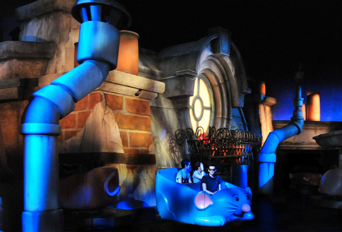 Atraccion Ratatouille Disneyland Paris