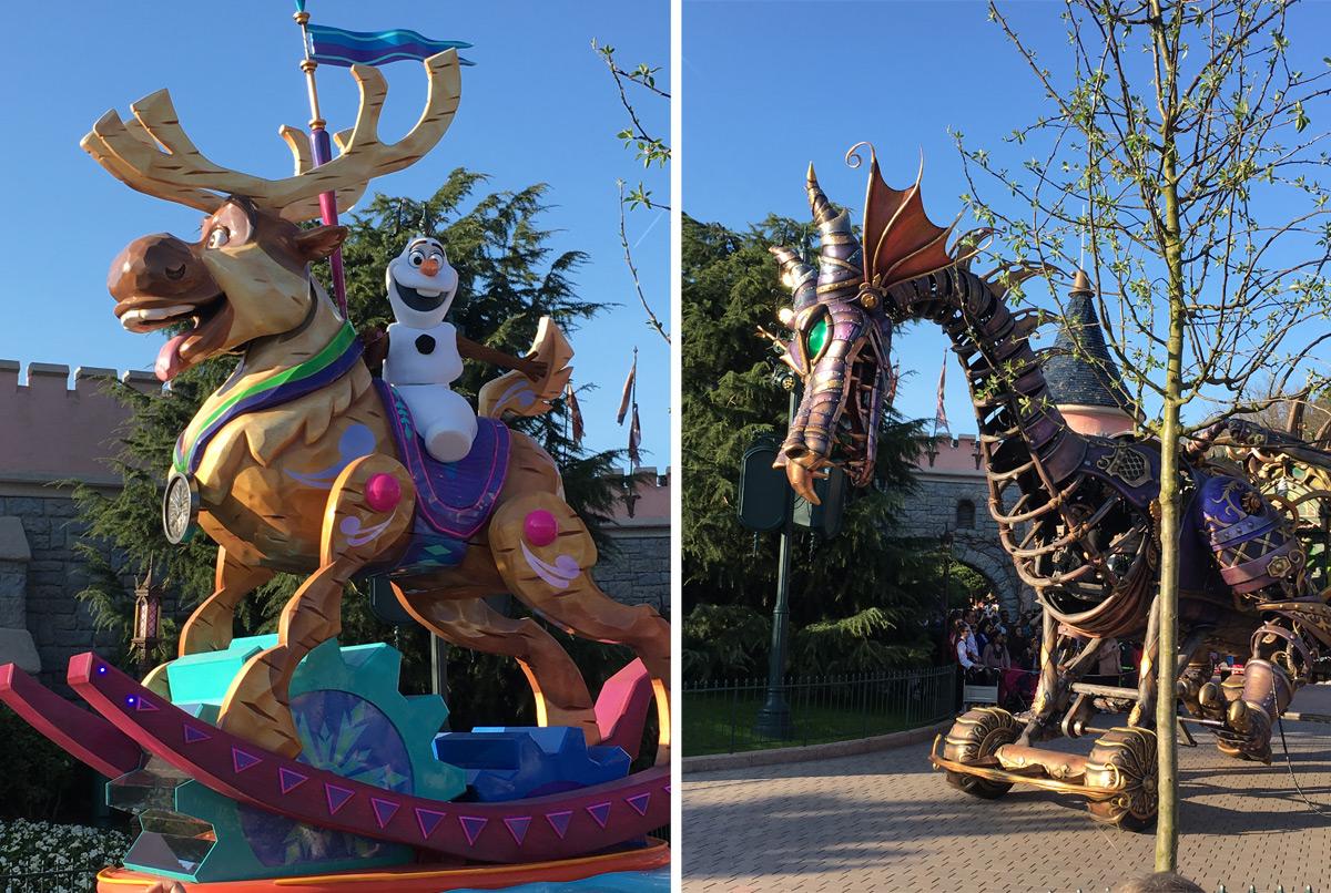 Cabalgata Disneyland Paris 25 aniversario 2017