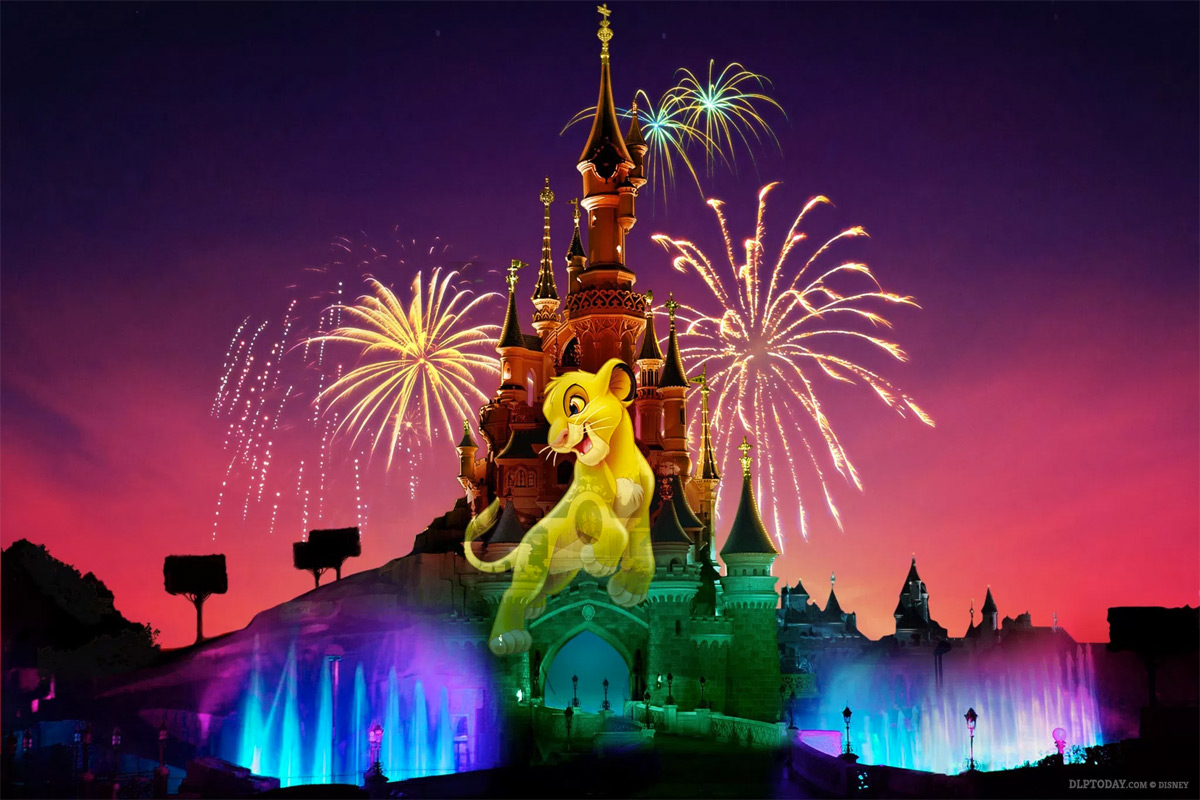 Disney Illuminations Disneyland Paris