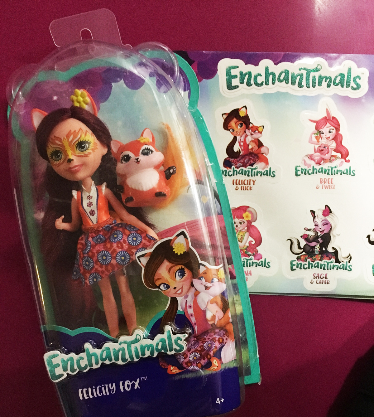 Muñecas Enchantimals - Fiesta Mattell