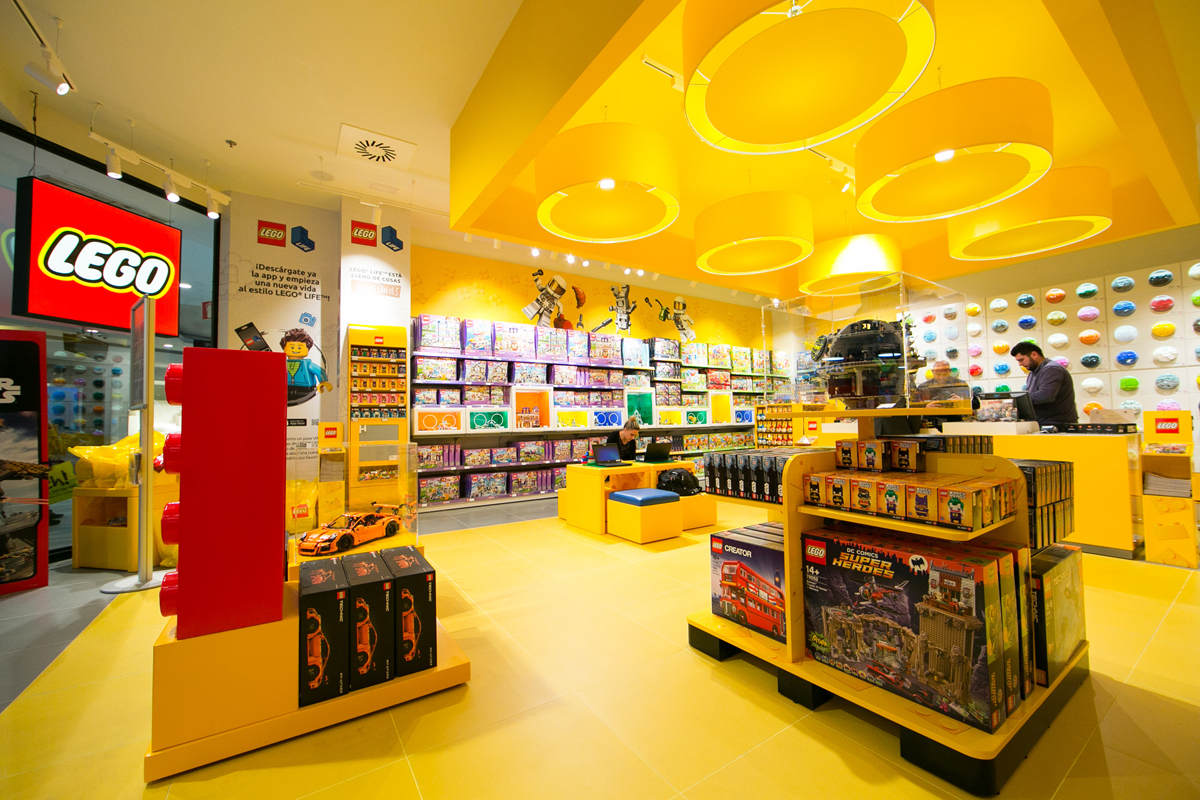 Tienda LEGO MAdrid LA Vaguada