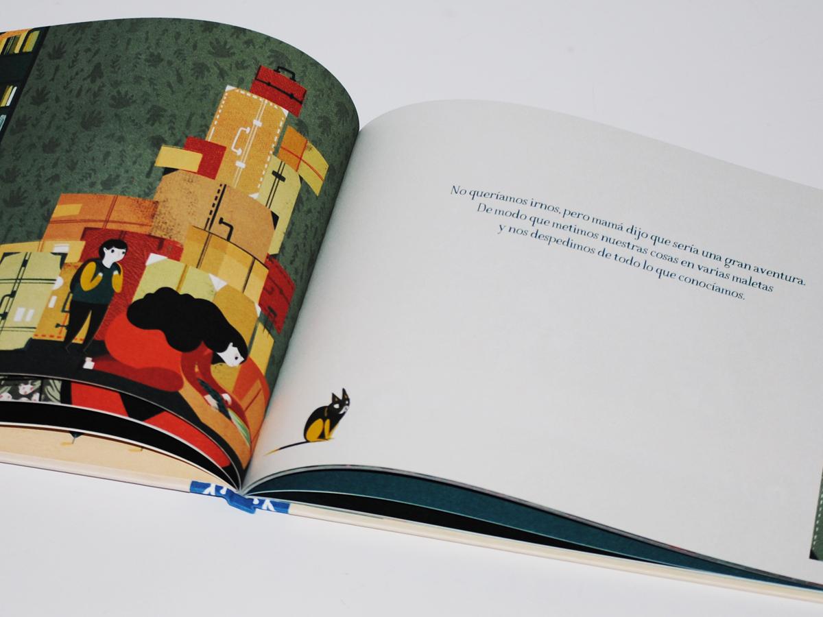 Libros para niños - 6 y 8 años - Premio Kirico - El viaje - Francesca Sanna