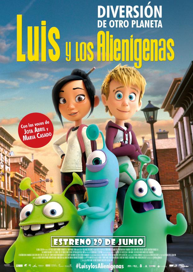 CINE CON NIÑOS: Luis Y los Alienígenas