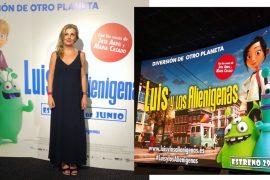 Susana Garcia Bloguera Estreno Luis y los alienigenas