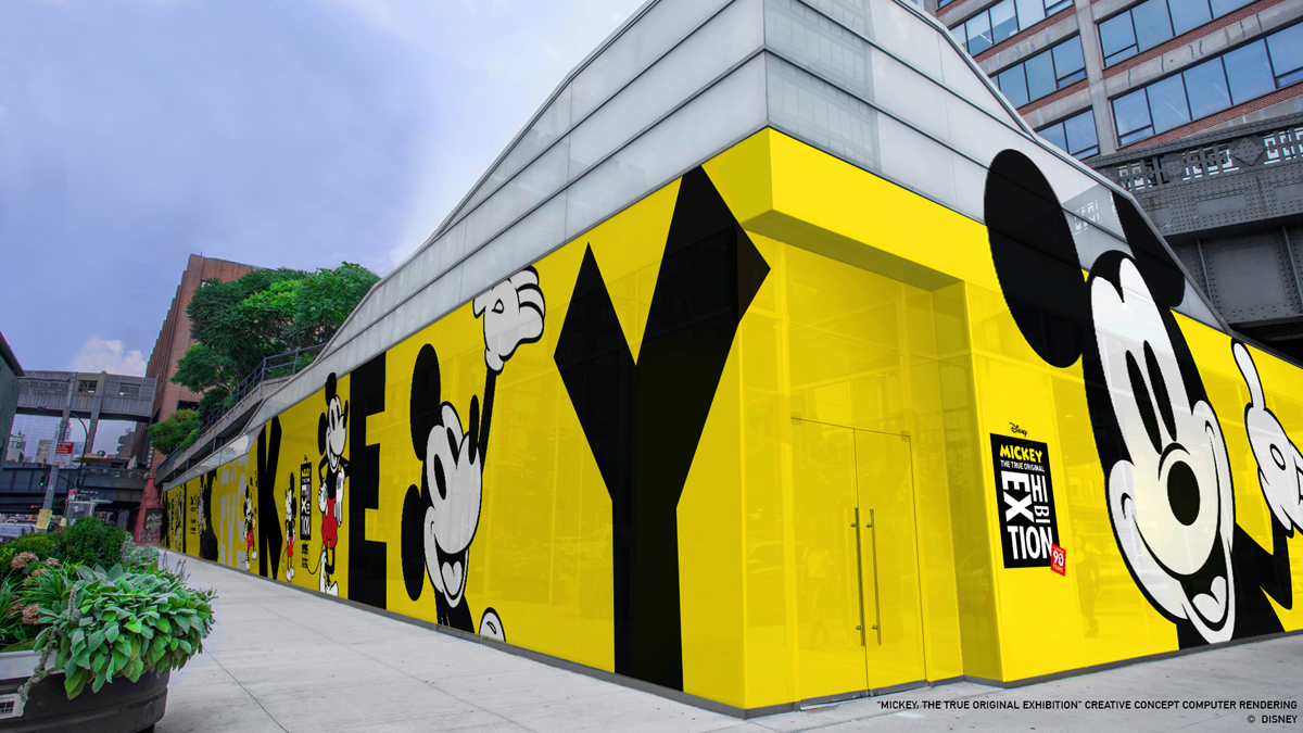 """MICKEY: THE TRUE ORIGINAL EXHIBITION"" Nueva York"