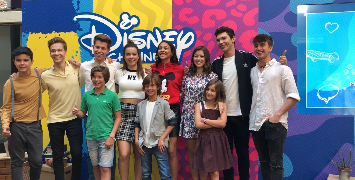 Disney Channel Presentadores Programación 2018