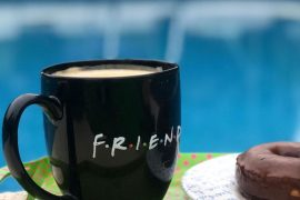 Taza de friends