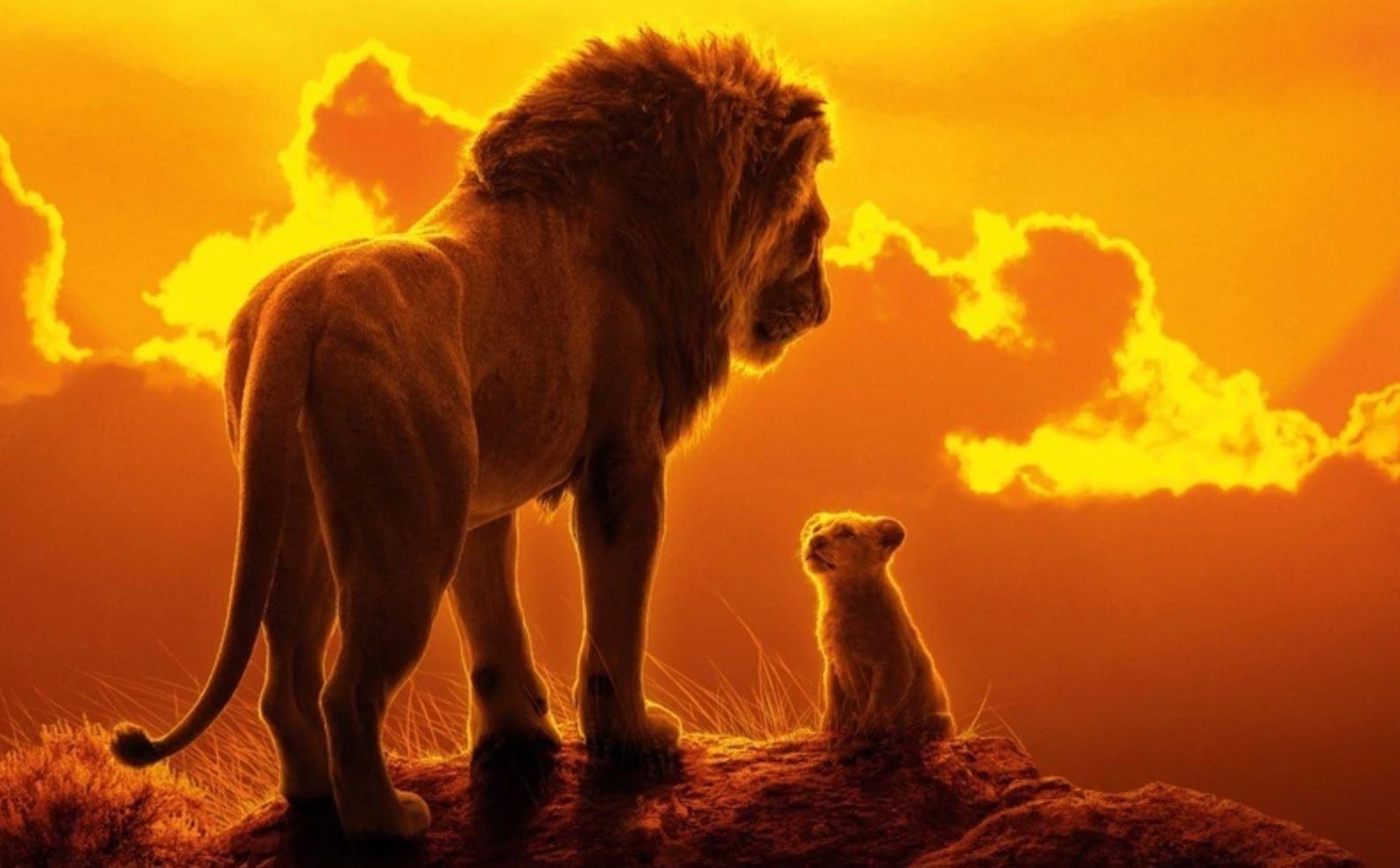 el rey leon pelicula edad