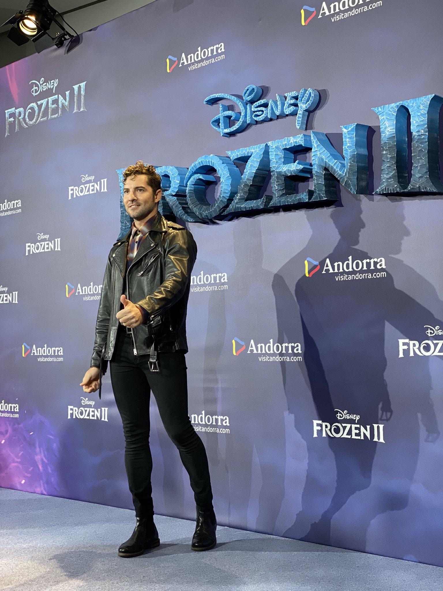 Frozen 2 Premiere DAVID BISBAL