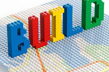 Lego Building in Virtual Chrome - Google