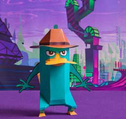 Manualidades Perry el Ornitorrinco