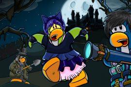 CLub Penguin - Halloween