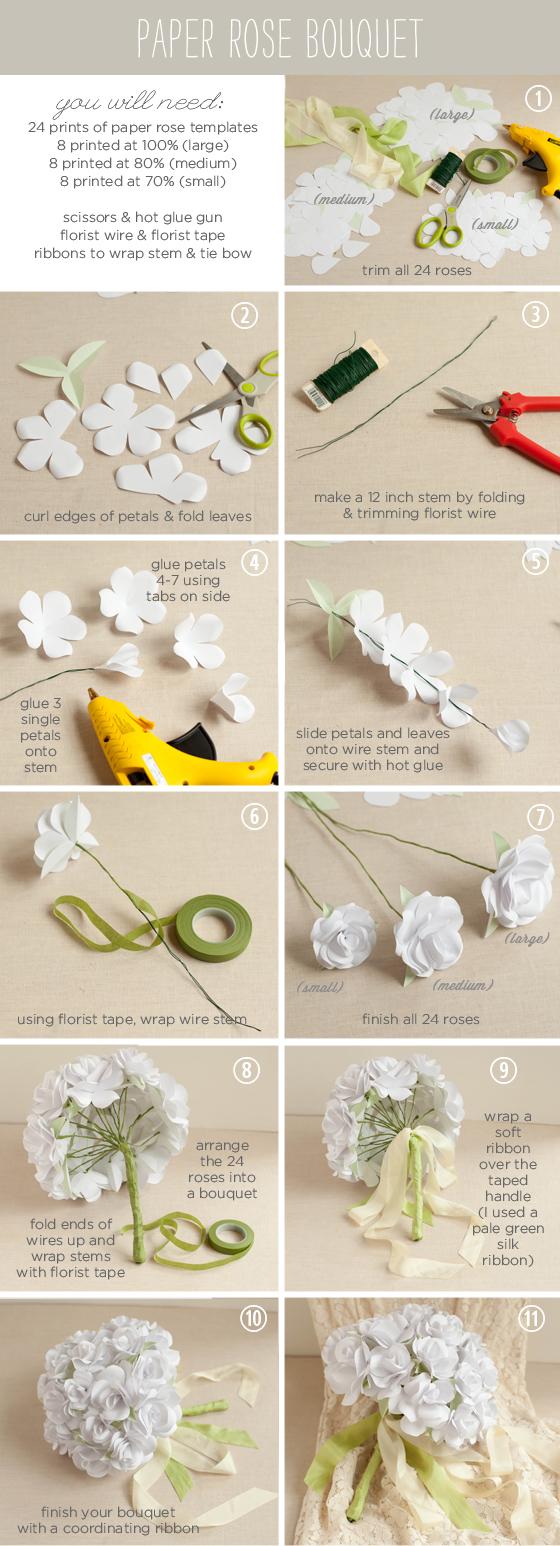 Origami Flower Bouquet Tutorial Flowers Healthy